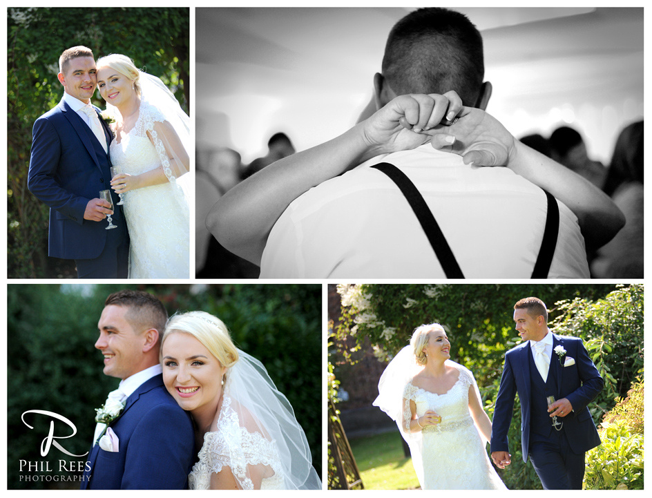 Elise & Rich's Wedding at Rossett Hall, between Wrexham and Chester