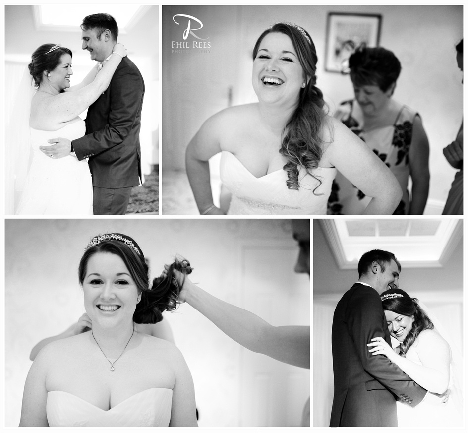 Rossett Hall Wedding Photography by Chester & Wrexham Wedding Photographer Phil Rees