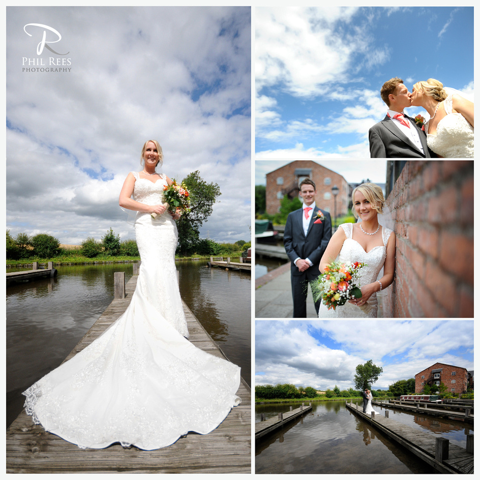 Wedding Photography at Lion Quays for Rachel & Chris by Wrexham Wedding Photographer Phil Rees