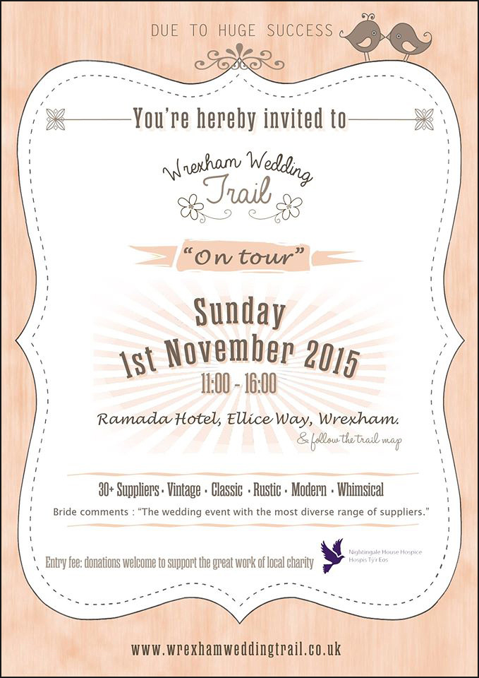 Wrexham Wedding Trail's Wedding Fair at the Ramada, Wrexham