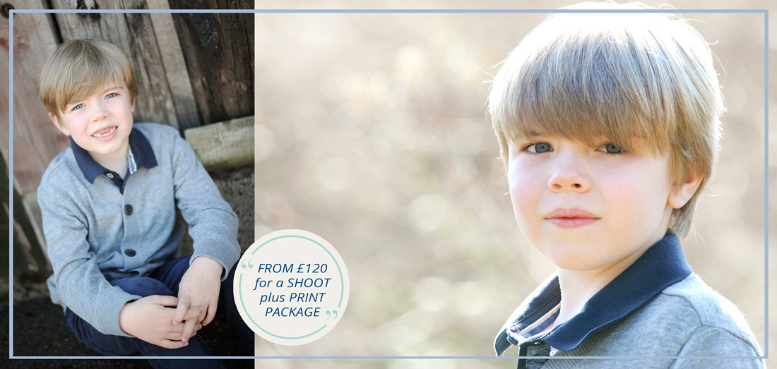 Children's Portraits Packages for Wrexham and Chester