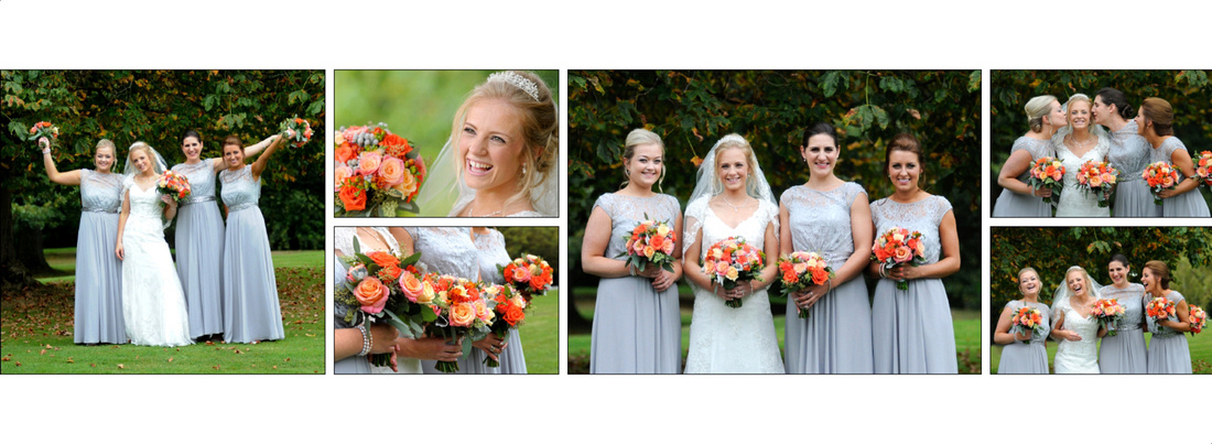 ruthin castle wedding album pages